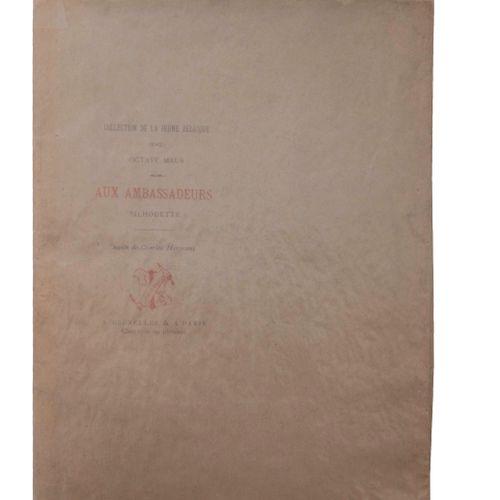 (Hermans) Octave Maus, Aux Ambassadeurs/ Silhouette. Dessin de Charles Hermans. …