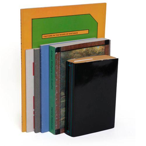 (artist's book) A varied set of five artist's books, including: John Baldessari,…