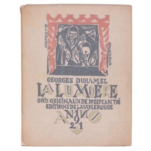 (Cantré) Georges Duhamel, La Lumière. Pièce en quatre actes, avec une préface in…