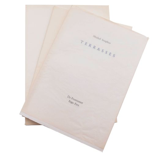 (Seuphor) Michel Seuphor, Terrasses. (Gent), Ergo Pers/ De Prentenier, 1998. In …