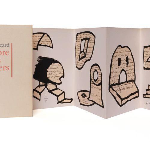 (Alechinsky) Michel Sicard, L'ombre des glaciers. Illustrations de Pierre Alechi…