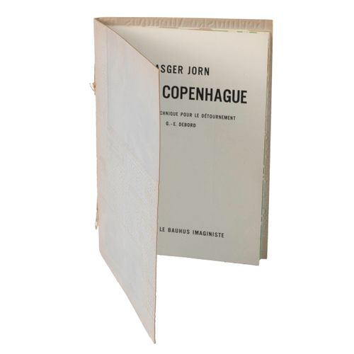 (Internationale Situationniste) Asger Jorn, Fin de Copenhague. Conseiller techni…