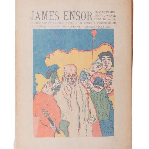 """(Ensor) 'La Plume' Peintre et graveur. Paris, """"La Plume"""", 1899. In 8°. 96 pp.Num…"""