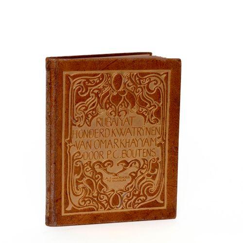 (Boutens) P.C. Boutens, Rubiyat. Honderd kwatrijnen van Omar Khayyam. Bussum, C.…