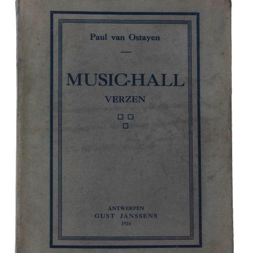 (Van Ostaijen) Paul van Ostayen (sic), Music Hall/ Verzen. Antwerpen, Gust Janss…