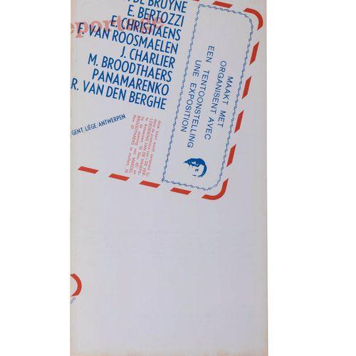(Broodthaers) 'Reportage' Interuniversitaire tentoonstelling/Exposition interuni…
