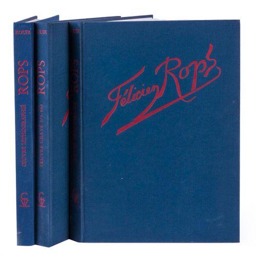 (Rops) Eugène Rouir, Félicien Rops. Catalogue raisonné de l'oeuvre gravé et lith…