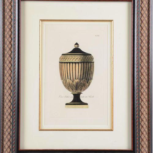 "Print.  ""Vaso antico esistente in Tivoli""  Beautiful modern frame.  Size : 28 cm…"