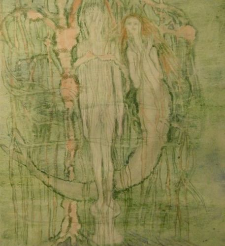 LARS BO (1924 1999) Lithograph in colours, illustration for the little mermaid, …