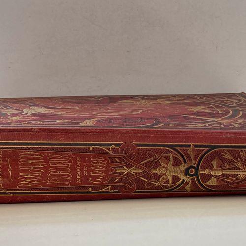 [G. DORE] ARIOSTE: Roland furieux. Hachette et Cie, 1879.  In folio pleine toile…