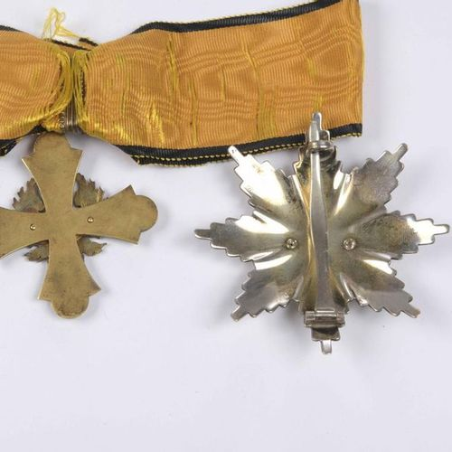GREECE Set of Commander and plaque of the Order of the Phoenix. Silver (small te…