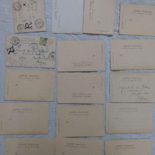 Ensemble de photographies / cartes postales VIETNAM / INDOCHINE, VERS 1900  Ense…