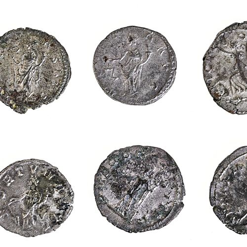 Postume (259 268), ROME,  Postume (259 268),    Antoniniens (13), rev. PAX AUG, …
