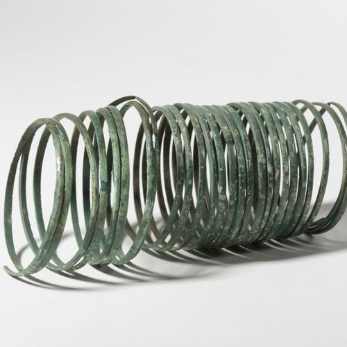 Bracelet à spirales ITALIE, VIIIE SIÈCLE AVANT JC  Bracelet à spirales    bronze