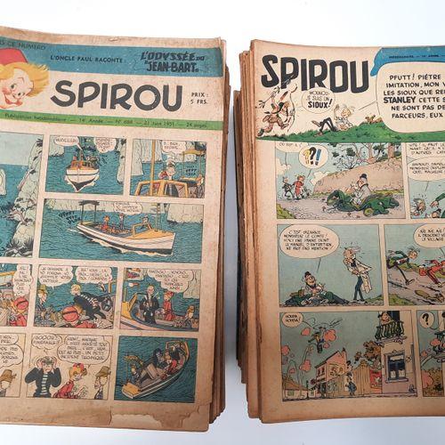 Journal de Spirou, Journal de Spirou,    Série complète de 237 fascicules allant…