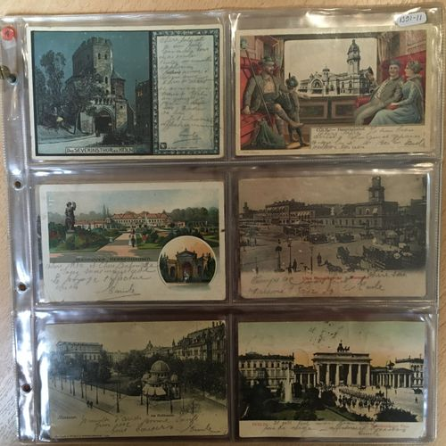 Voyage Cologne Irkoutsk en 61 cartes postales MOSCOU ET SIBÉRIE, 1904  Voyage Co…