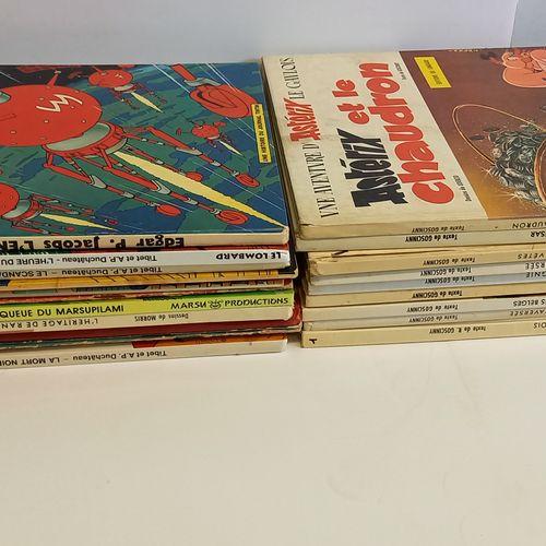 Lot de bandes dessinées Lot de bandes dessinées    comprenant Archie Cash, Le ma…