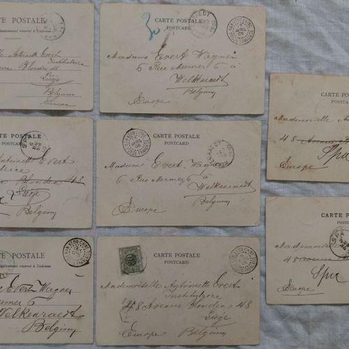 Cartes vues de Hankow, bureau français de Han Kéou CHINE 1905 1907  Cartes vues …