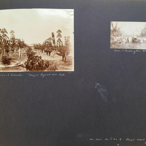 Album de photographies d'exploitations minières MALAISIE ET INDONÉSIE, 1911  Alb…