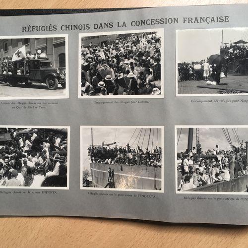 Album relatant les incidents Sino Japonais CHINE, SHANGHAÏ, 1937  Album relatant…