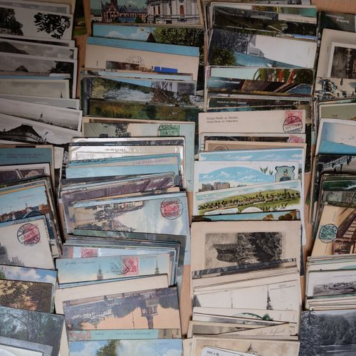 Ensemble de cartes vues ALLEMAGNE, VERS 1900  Ensemble de cartes vues    Compren…