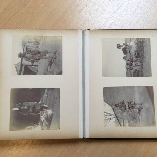 Ensemble de quatre albums de photographies CHINE, 1904 1916  Ensemble de quatre …