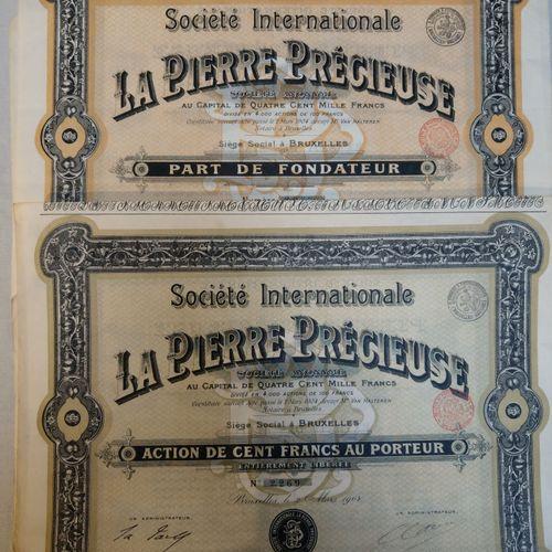"""Société internationale """"La Pierre Précieuse"""" FRANCE  Société internationale """"La …"""