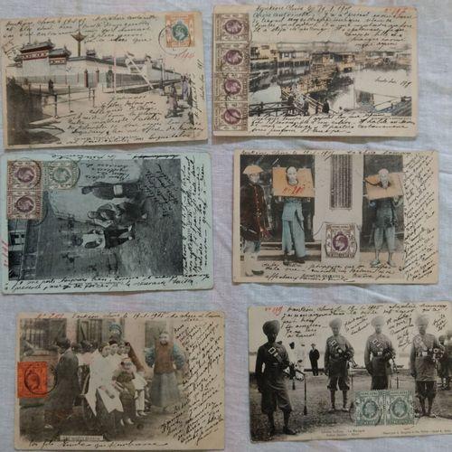 Ensemble de scènes et vues de Chine CHINE, 1905 1907  Ensemble de scènes et vues…