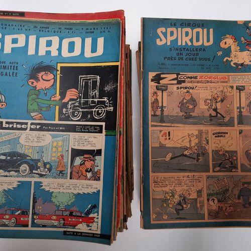 Journal de Spirou, Journal de Spirou,    Série complète de 189 fascicules du n°1…