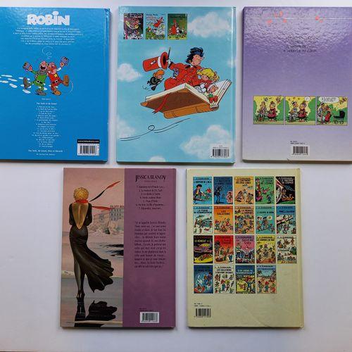 Lot de 11 bandes dessinées dédicacées, lot de 11 bandes dessinées dédicacées,   …