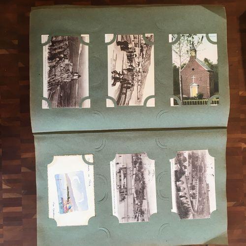 Collection de cartes postales BELGIQUE, FRANCE, VERS 1900  Collection de cartes …