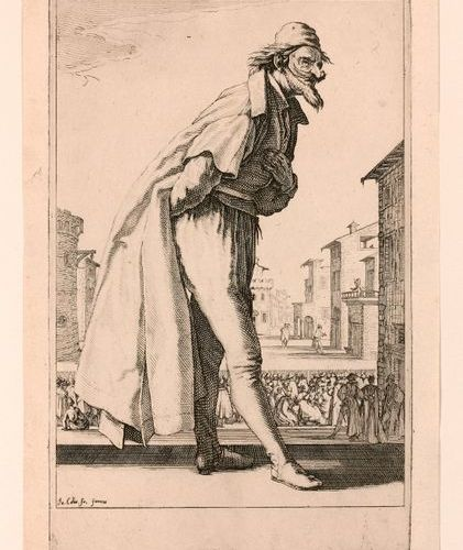 Jacques CALLOT (Nancy 1592 1635)  The Three Pants, also known as The Three Actor…