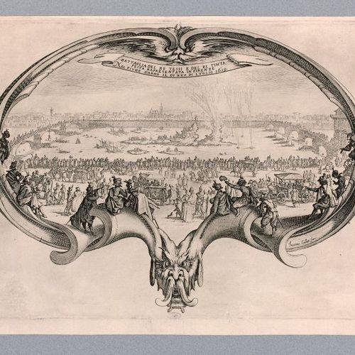 Jacques CALLOT (Nancy 1592 1635)  The Fan, 1619  Etching. Meaune 617 Tie 302  He…