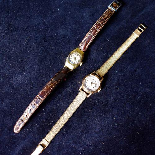 MONTRE BRACELET de femme en or, signé L. LEROY et Cie, n° 34979. JOINT : BOITIER…