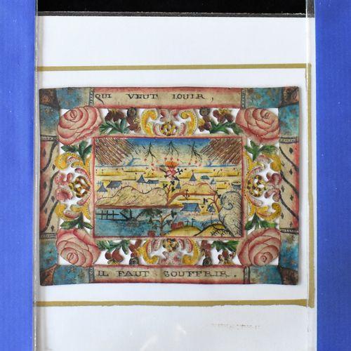 TROIS CANIVETS : Prix de dévotion (Haut. 11,5 Larg. 6,5 cm) , Qui veut louir (Ha…
