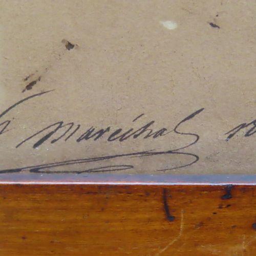 """H. MARECHAL (XIXe) d'après Anne Louis GIRODET. """"La Révolte du Caire Détail"""", des…"""