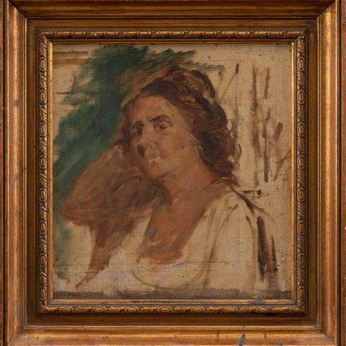 "ESCUELA ESPAÑOLA, Siglo XIX XX ""Portrait"" 34 x 33 cms. Framed and good presentat…"