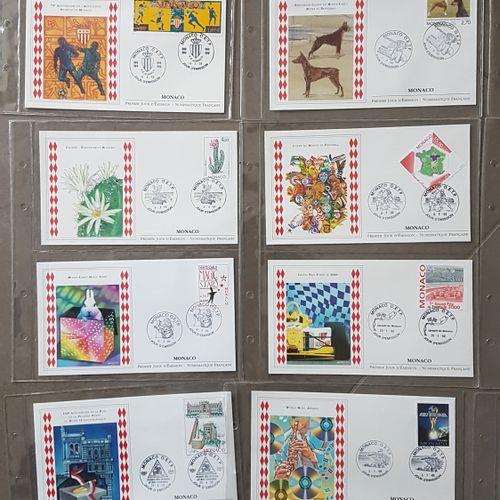 Lot of 70 envelopes 1st day Monaco.
