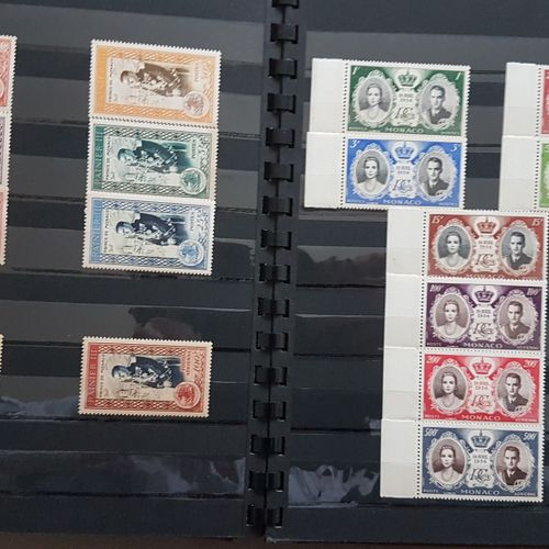 MONACO a TP binder, many corner blocks to date. Most of them new.