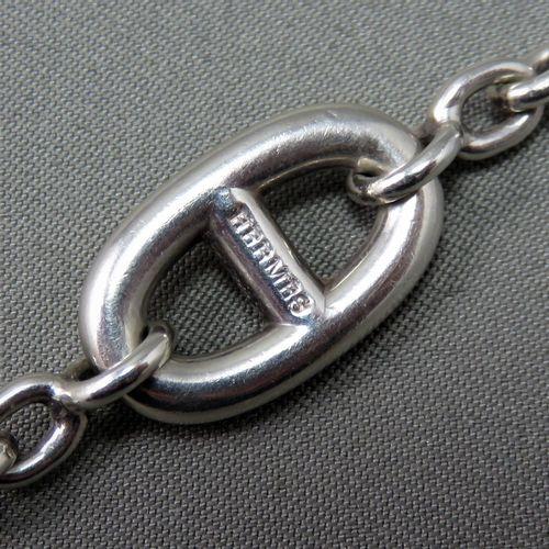 """Hermès Paris   Bracelet """"Farandole""""   en argent à 925°/00. Signé, dans sa boîte …"""