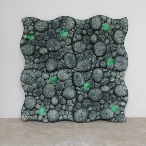 "Piero GILARDI (born 1942). ""Pave Piuma"", Element imitating pebbles in expanded p…"