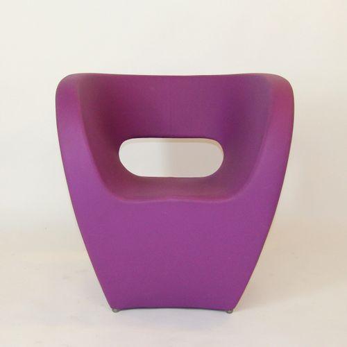 "Ron ARAD (born in 1951) ""Little Albert"" armchair, polypropylene structure covere…"
