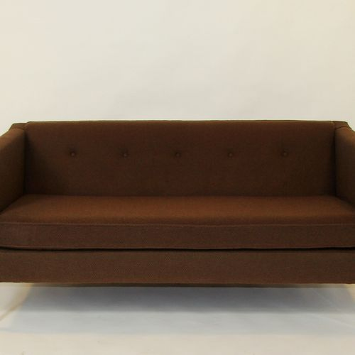 "Pierre PAULIN (1927 2009). 3 seater sofa, variant of the ""C449"" model, rectangul…"
