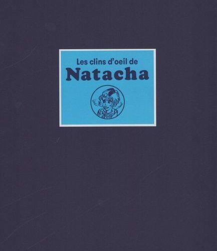 WALTHERY Walthéry. Portfolio Natacha's winks. Edition 120 copies. N°/S. Includes…