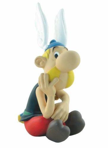 UDERZO Asterix. Creations Leblon Delienne (1995/2000). Set of 3 statuettes: Drea…