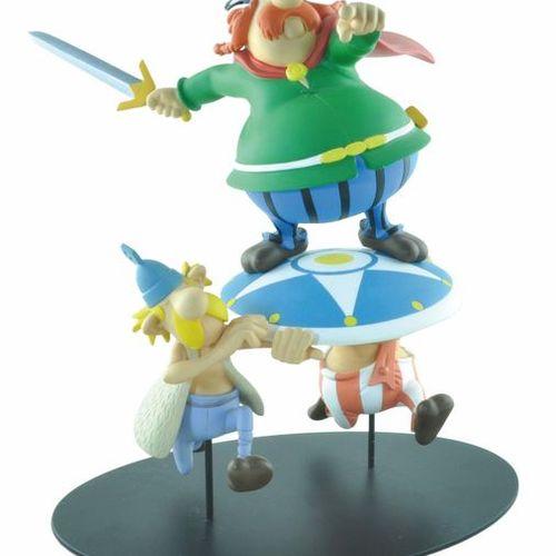 UDERZO Asterix. Created by Leblon Delienne (2001). Abraracourcix. Reference LAS0…