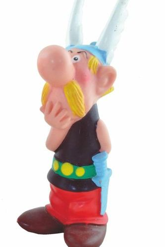 UDERZO Pooch. Asterix soft vinyl figure. Made in 1967 by Delacoste. The whistle …