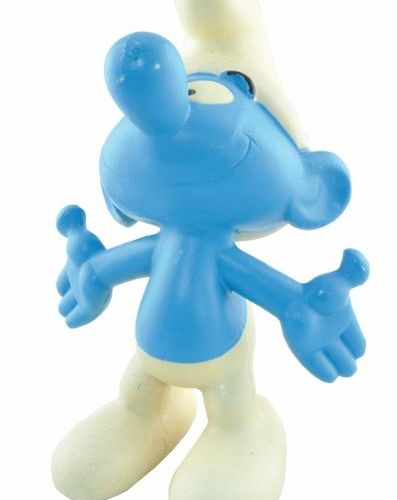 PEYO Pooch. Large soft vinyl Smurf figure. Made in the 60's. In its original pac…