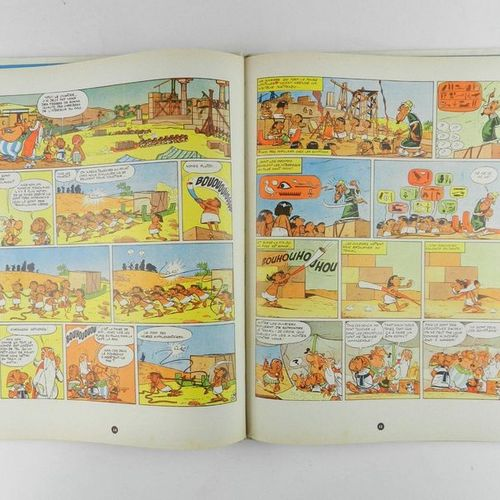 UDERZO Asterix. Volume 6: Asterix and Cleopatra. Eo of 1965. Back in excellent c…