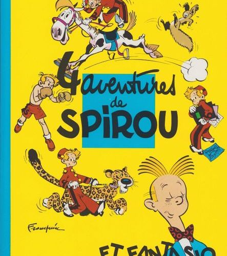 FRANQUIN Spirou and Fantasio. Batch of volumes 1 to 55. Volumes 28, 29, 31 to 35…